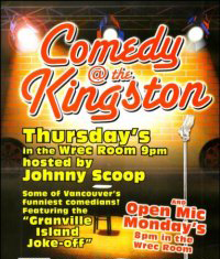 comedy at the kingston in vancouver