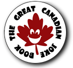 The Great Canadian Joke Book logo